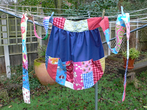 Patchwork Apron by secrettrail