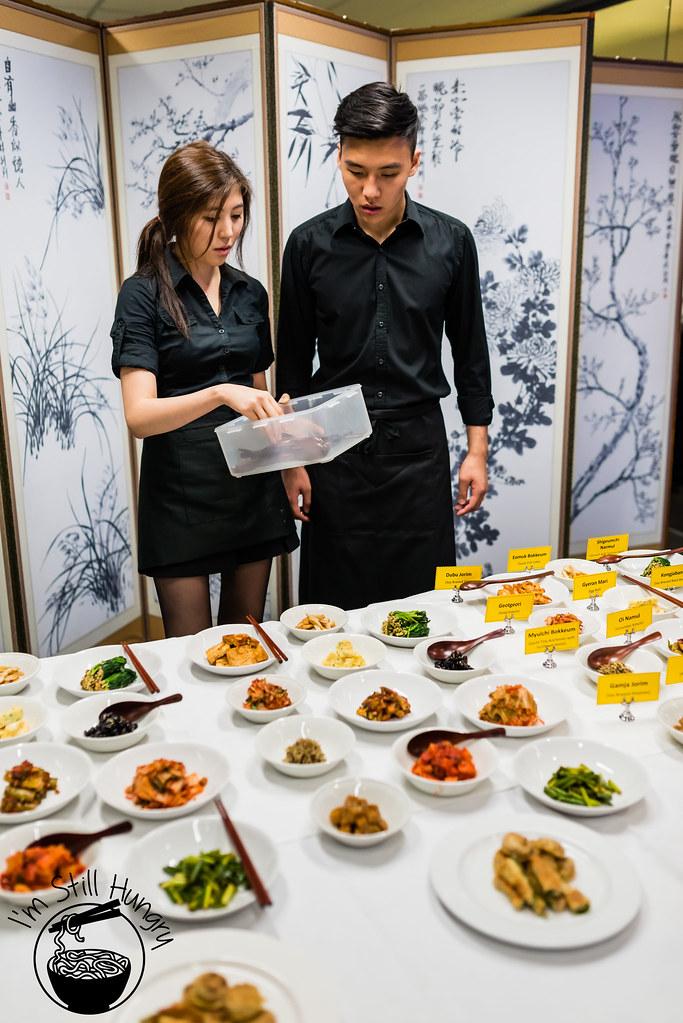 korean banquet showcase
