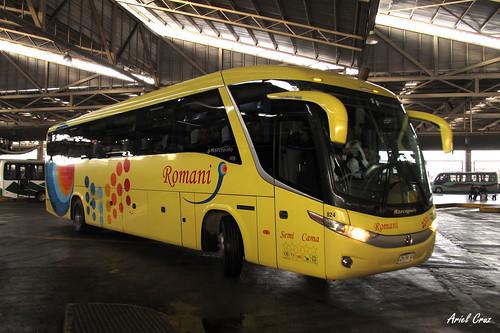 Romani en Terminal San Borja | Marcopolo Paradiso 1050 G7 / CHRK48