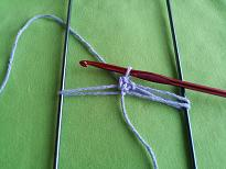 Hairpin Lace Step 7