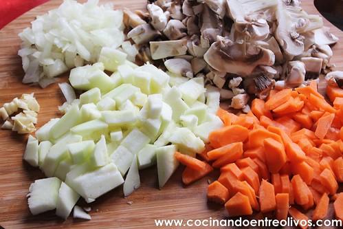 Macarrones integrales con verduras www.cocinandoentreolivos (1)