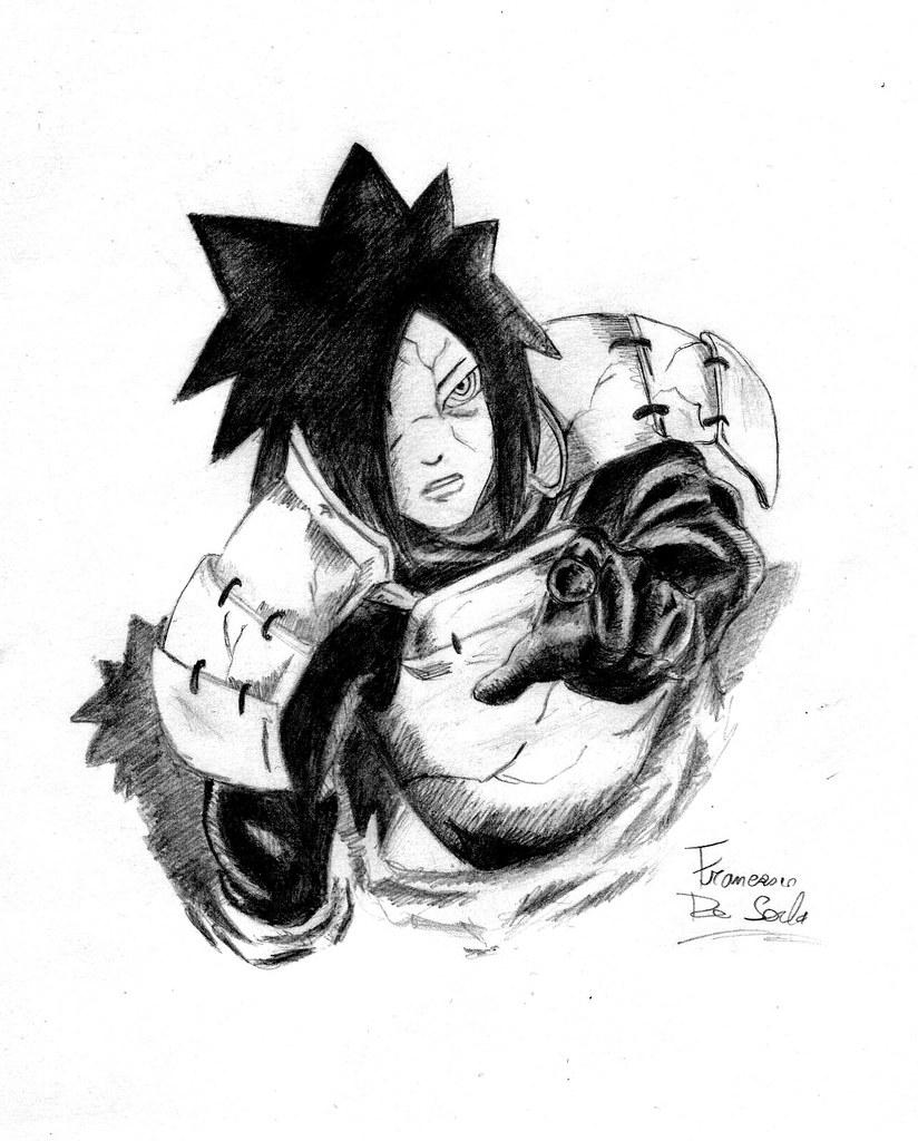Madara Uchiha L Antagonista Della Del Manga Naruto Shippud