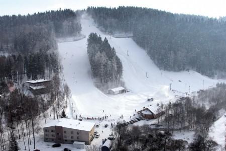 Hlinsko - moderní lyžování přímo ve městě