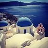 #Santorini - #vegan #travel