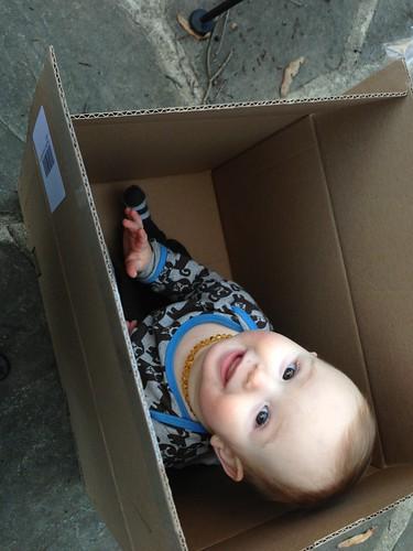 Boy in the box by carolinearmijo