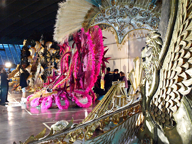 Chariots Await, Election of Carnival Queen, Santa Cruz, Tenerife