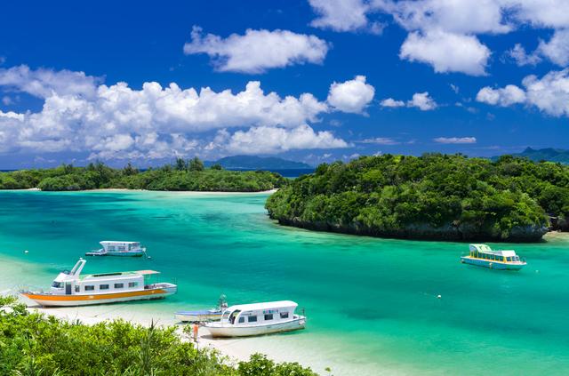 1.Kabira Bay in Ishigaki Island