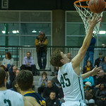2014-02-28 -- Men's basketball vs. Augustana.