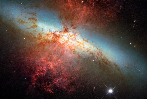 M82 and its Supernova | by sjrankin