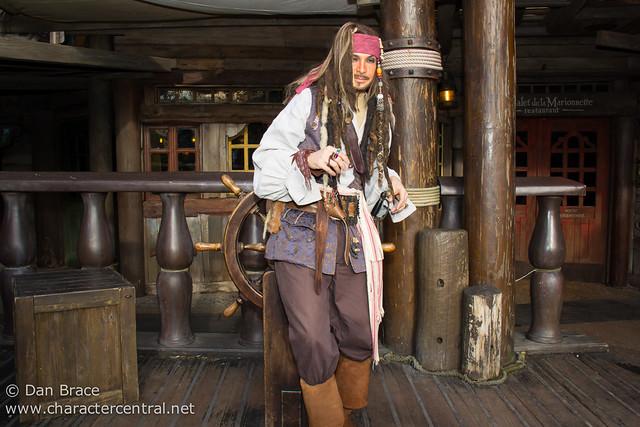 Meeting Captain Jack Sparrow