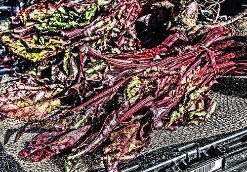 Fresh Beets at Farmer's Market by joeeisner