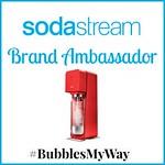 I'm a SodaStream Canada Ambassador!