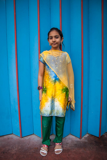 Girl In Little India