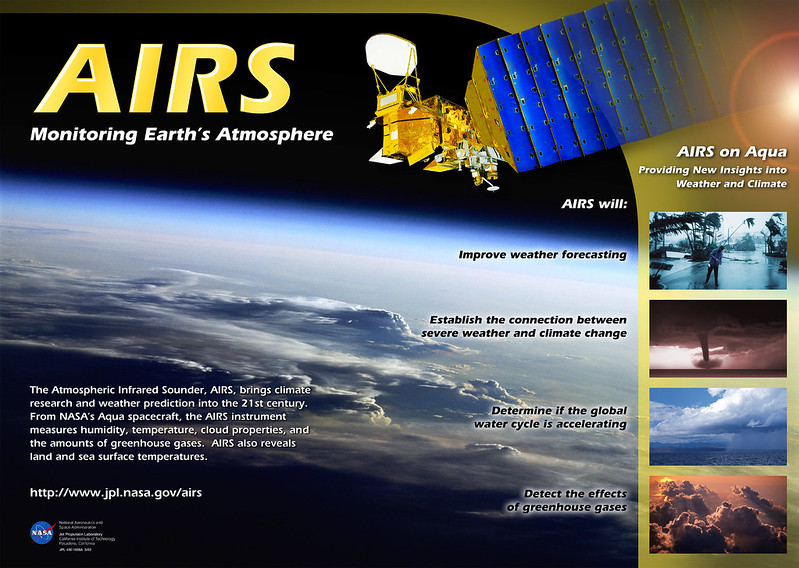 Poster: AIRS Monitoring Earth's Atmosphere