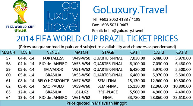 world cup 2014 tickets brazil full
