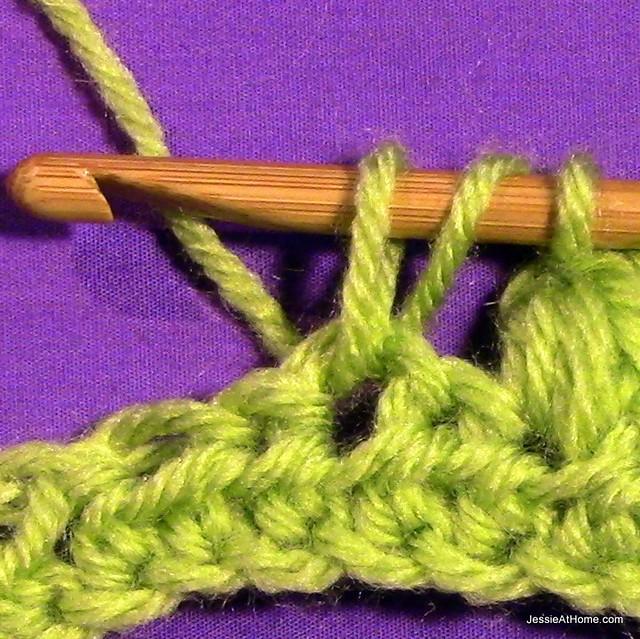 Puff-Stitch-pull-through