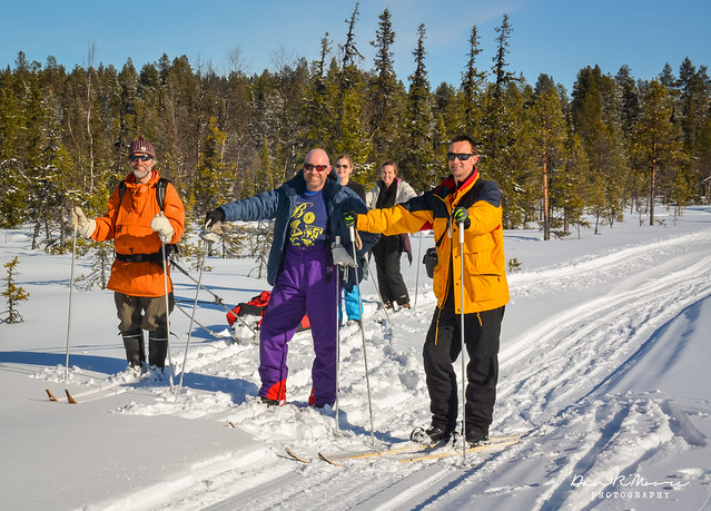 An Arctic Adventure in Swedish Lapland - Snow Skiing