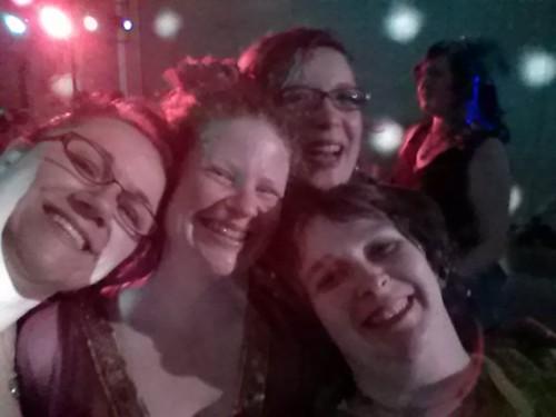 Dance selfie!