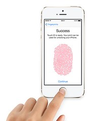 Touch ID on iPhone 5s