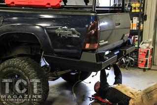 CBI Rear Bumber Install Toyota Tacoma | TCT Magazine