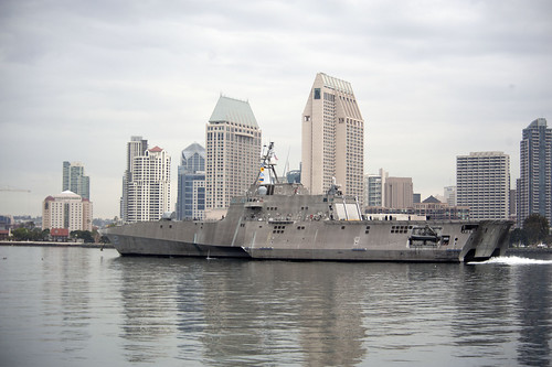USS Independence Departs San Diego for Florida
