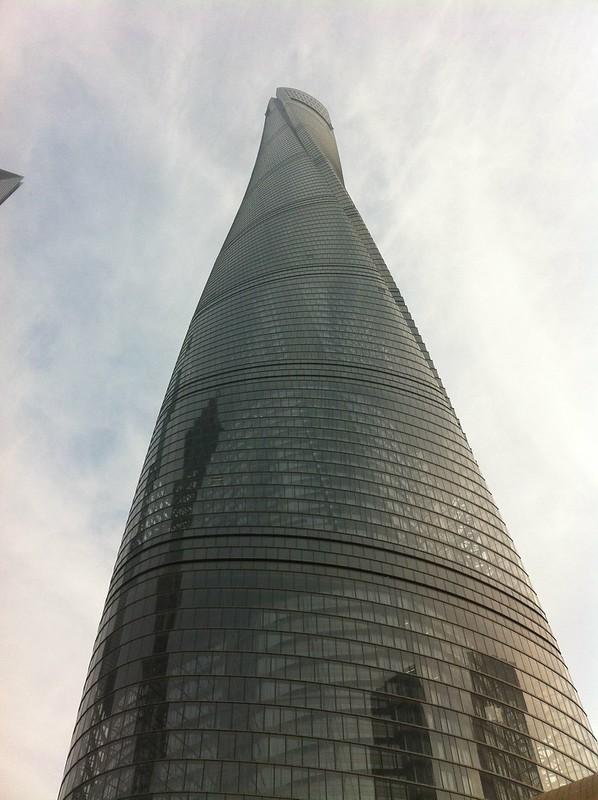 la TOUR SHANGHAI 650 mètres