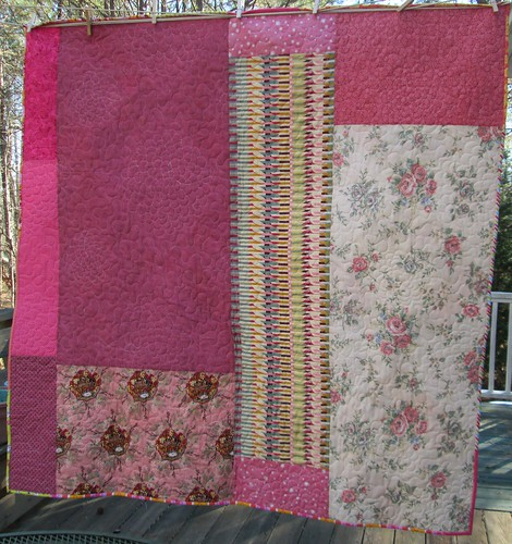 Frilly quilt