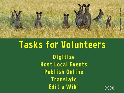 Responsible Travel Week can use volunteers! A few tasks for volunteers #rtweek15 #digitize #translate #wiki