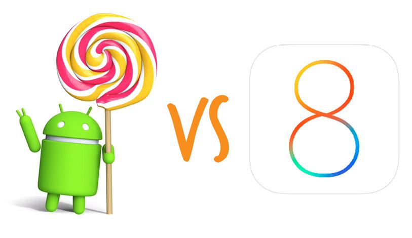 Android Lollipop este mai stabil ca iOS 8 139