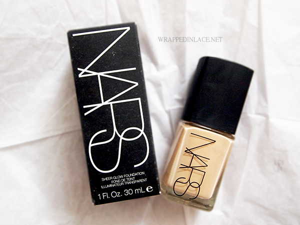 NARS Sheer Glow Foundation (Deauville) Review