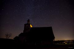 Aillant-Sur-Tholon, la chapelle Sainte-Anne sous les étoiles (2) - Photo of Aillant-sur-Tholon