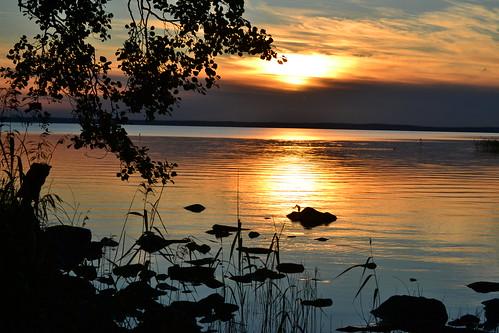 autumn sunset lake st finland geotagged evening september fin 2011 säkylä pyhäjärvi satakunta pihlava 201109 20110903 geo:lat=6103800400 geo:lon=2233198600