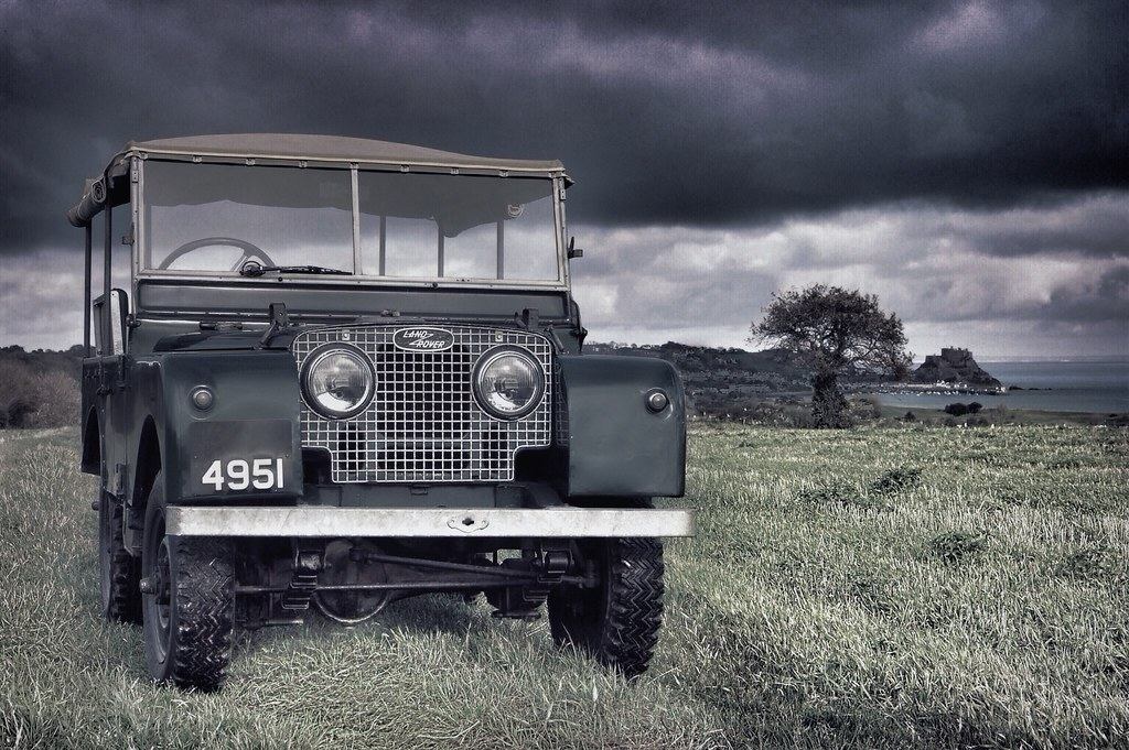 Land Rovers - Magazine cover