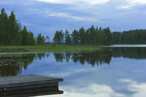 lake finland jyväskylä järvi vaajkoski