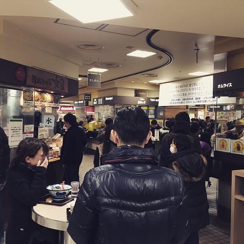 阪神百貨店のスナックパークがなくなる。。。イラチな関西人の胃袋を満たしてきた。寂しいなぁ。