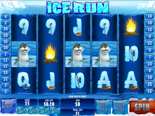 Ice Run slot game online review
