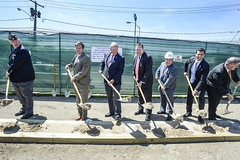 LIRR Wantagh Station Groundbreaking