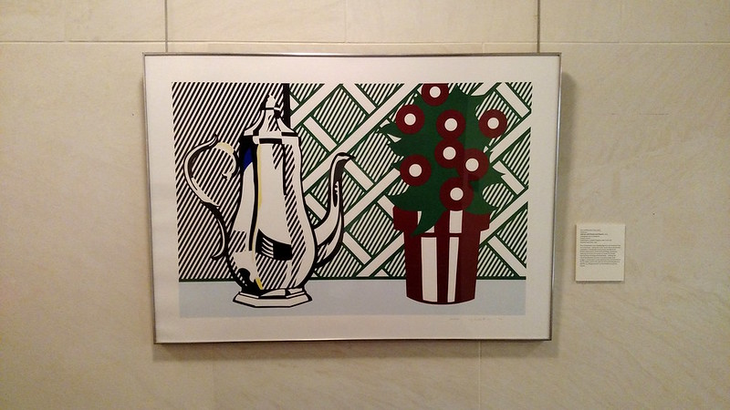 Roy Lichtenstein - Still Life with Pitcher and Flowers - 1974 FRAMED