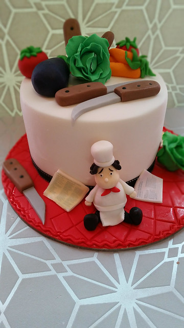 Chef's Cake made Edyta Kowalczyk Madej
