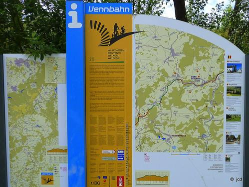 Balade au nord de Troisvierges au Luxembourg et en Belgique germanophone
