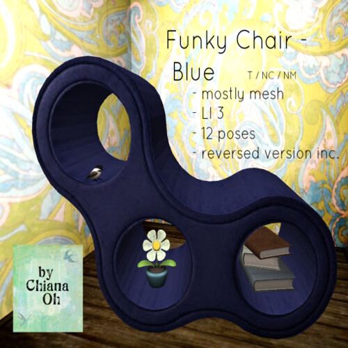 Funky Chair - Blue