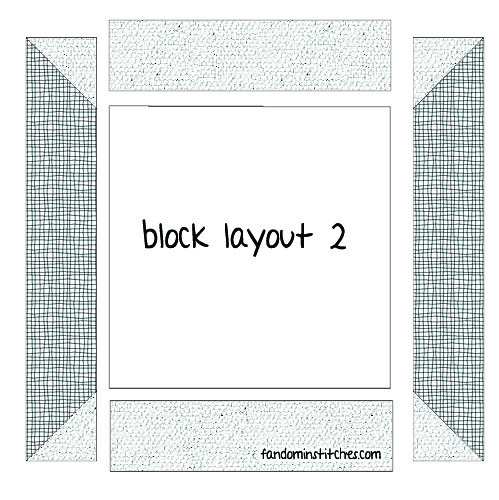 Block Layout 2 (even number weeks)