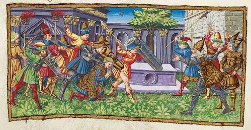 013-Bucolicon-Georgicon-Aeneis-1450-1460- Biblioteca Riccardiana de Florencia