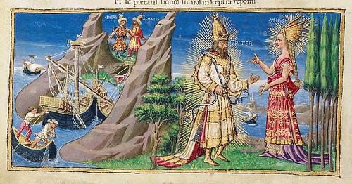 007-Bucolicon-Georgicon-Aeneis-1450-1460- Biblioteca Riccardiana de Florencia