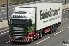 Scania R440 6x2 Tractor - PF12 OYX - Audrey Joyce - Eddie Stobart - M1 J10 Luton - Steven Gray - IMG_8314