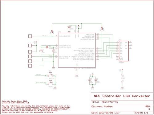 NESVerter 1.0 Schematic