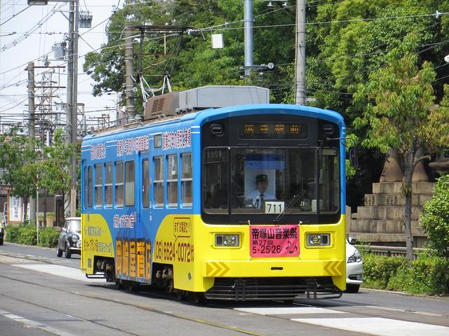Hankai Tramway 711 May 2013 Flickr Photo Sharing