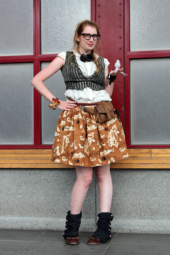 outfit: 14.6.2013 - International Steampunk Day