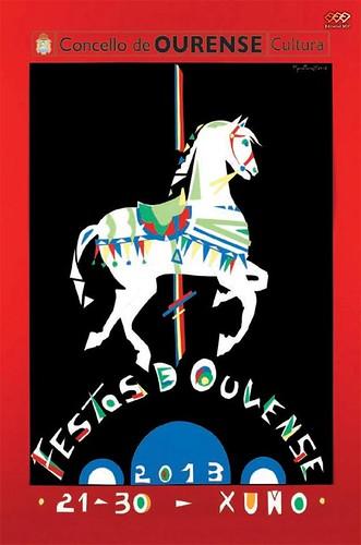 Ourense 2013 - Festas patronais - cartel