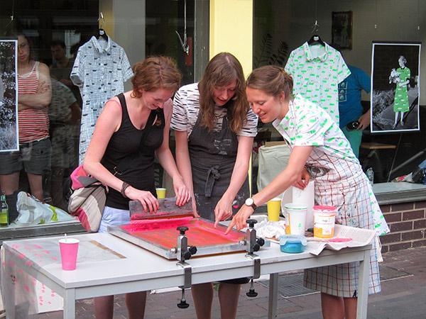 Craftparty im Drucksalon